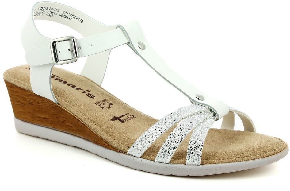 40229c8e59e3 Dámske kožené sandále Tamaris značky Tamaris - Lovely.sk