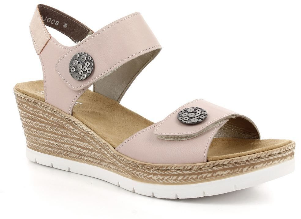 496309ab5b0b Dámske kožené sandále Rieker značky RIEKER - Lovely.sk