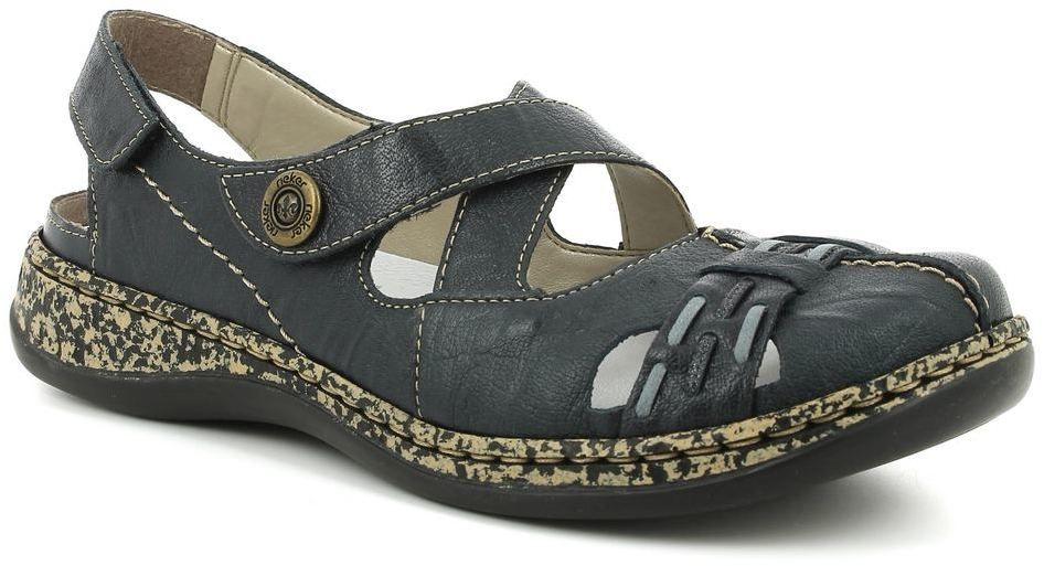 9b4f3f676a99b Dámska kožená sling obuv Rieker značky RIEKER - Lovely.sk