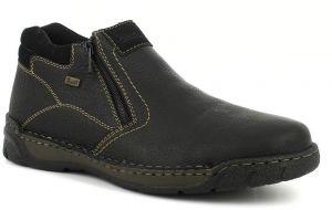 b03d518ab2d5 Pánska kožená členková obuv Rieker