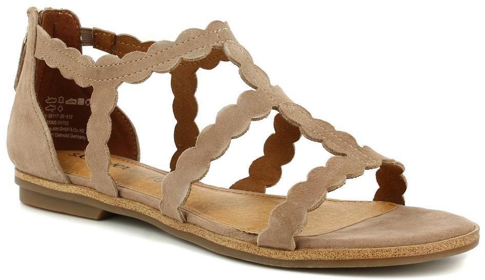 d960b0a4dd9a Dámske kožené sandále s.Oliver značky s.Oliver - Lovely.sk