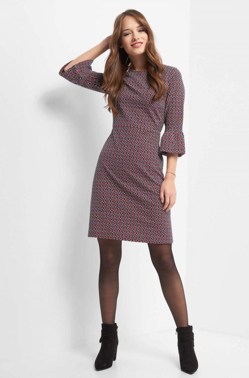 Rozšírené žakárové šaty značky ORSAY - Lovely.sk e7c13e4ae71