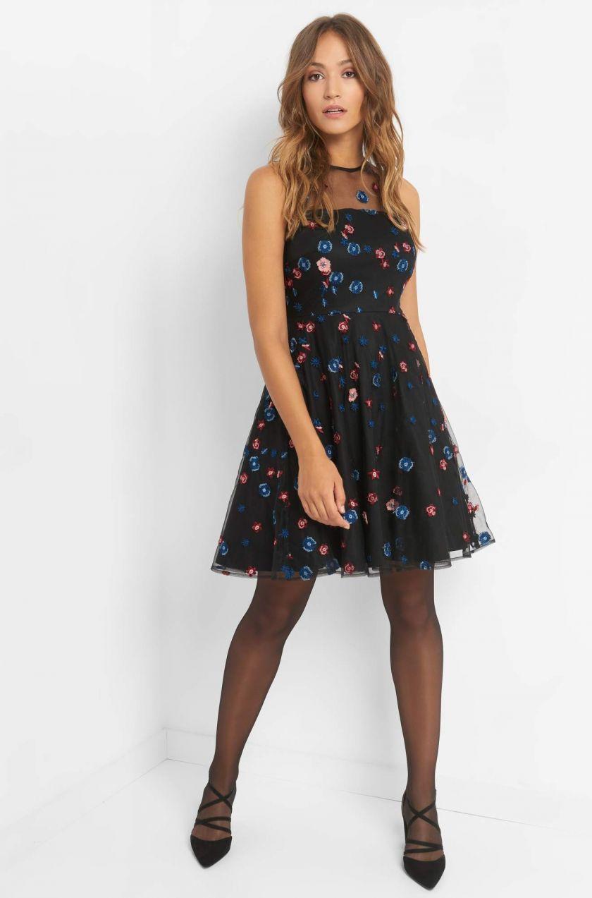 Rozšírené šaty s výšivkou značky ORSAY - Lovely.sk d1997520041