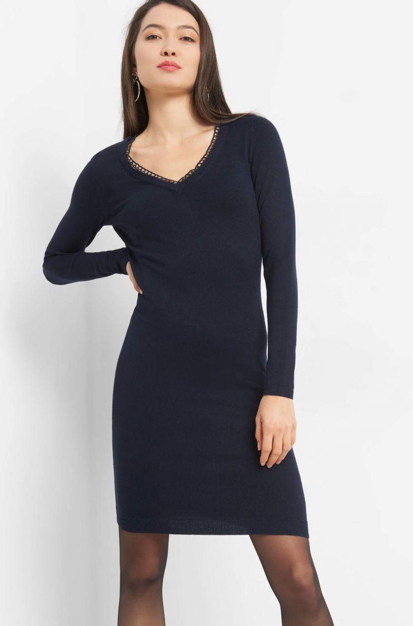 Úzke šaty s ažúrom značky ORSAY - Lovely.sk bd058d702fb