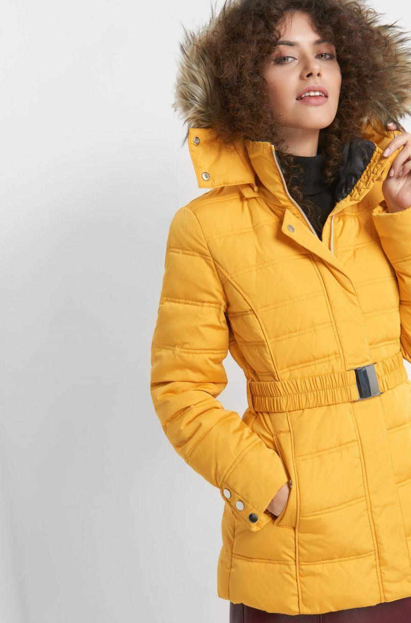 8db2460148de Prešívaná bunda s kapucňou značky ORSAY - Lovely.sk