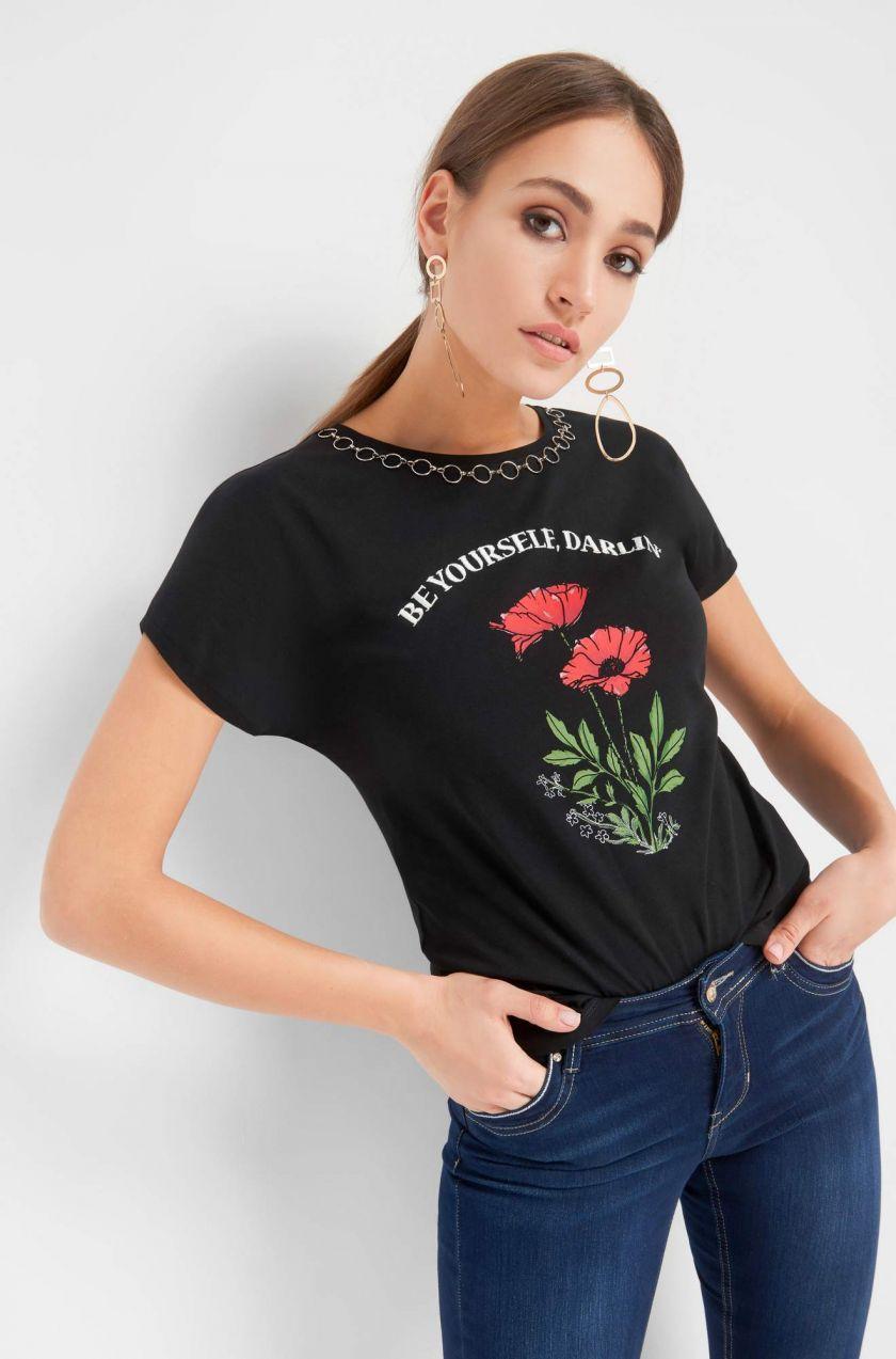 de791949075e Tričko s potlačou značky ORSAY - Lovely.sk