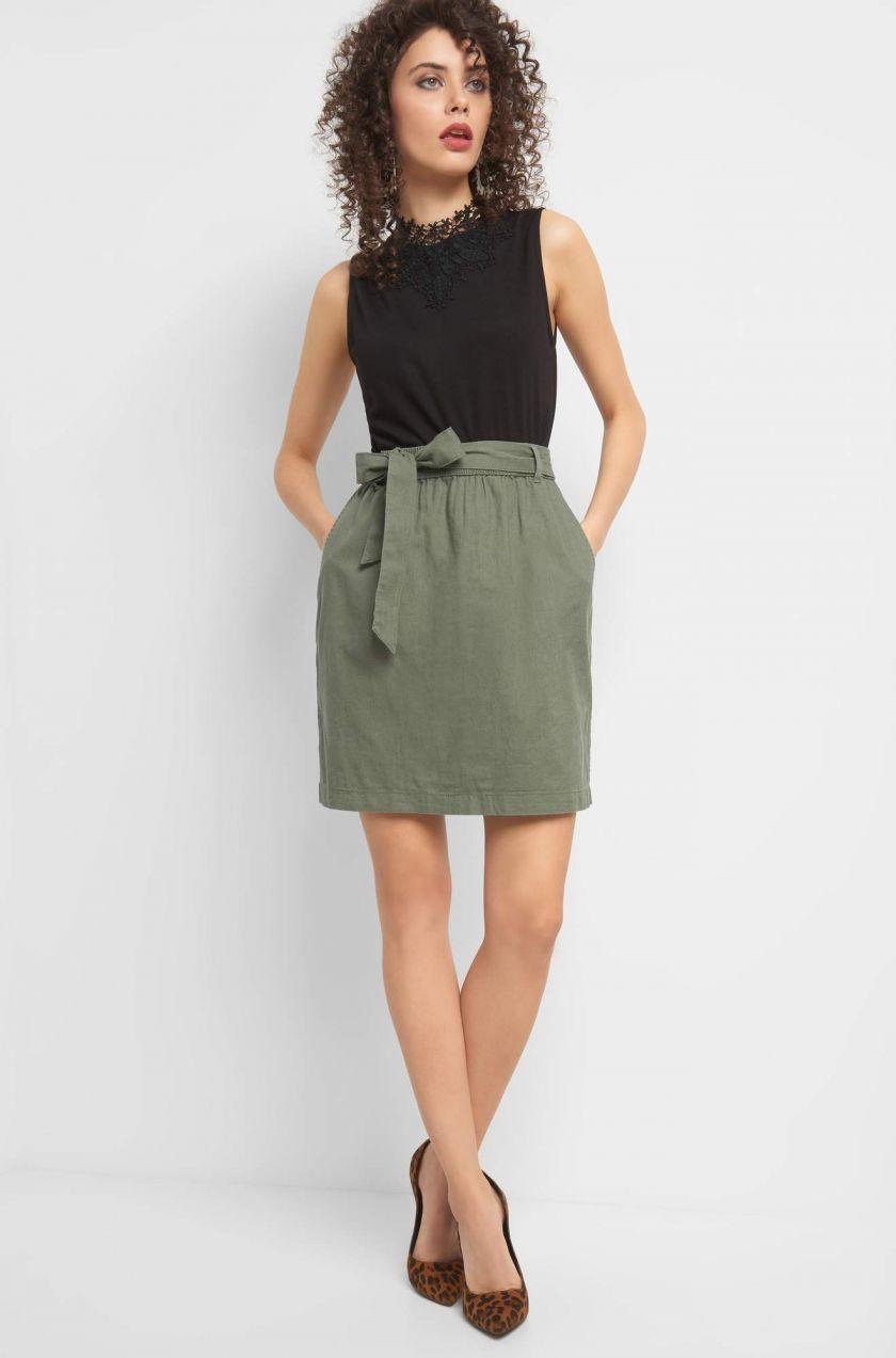578e447720cd Ľanová mini sukňa značky ORSAY - Lovely.sk