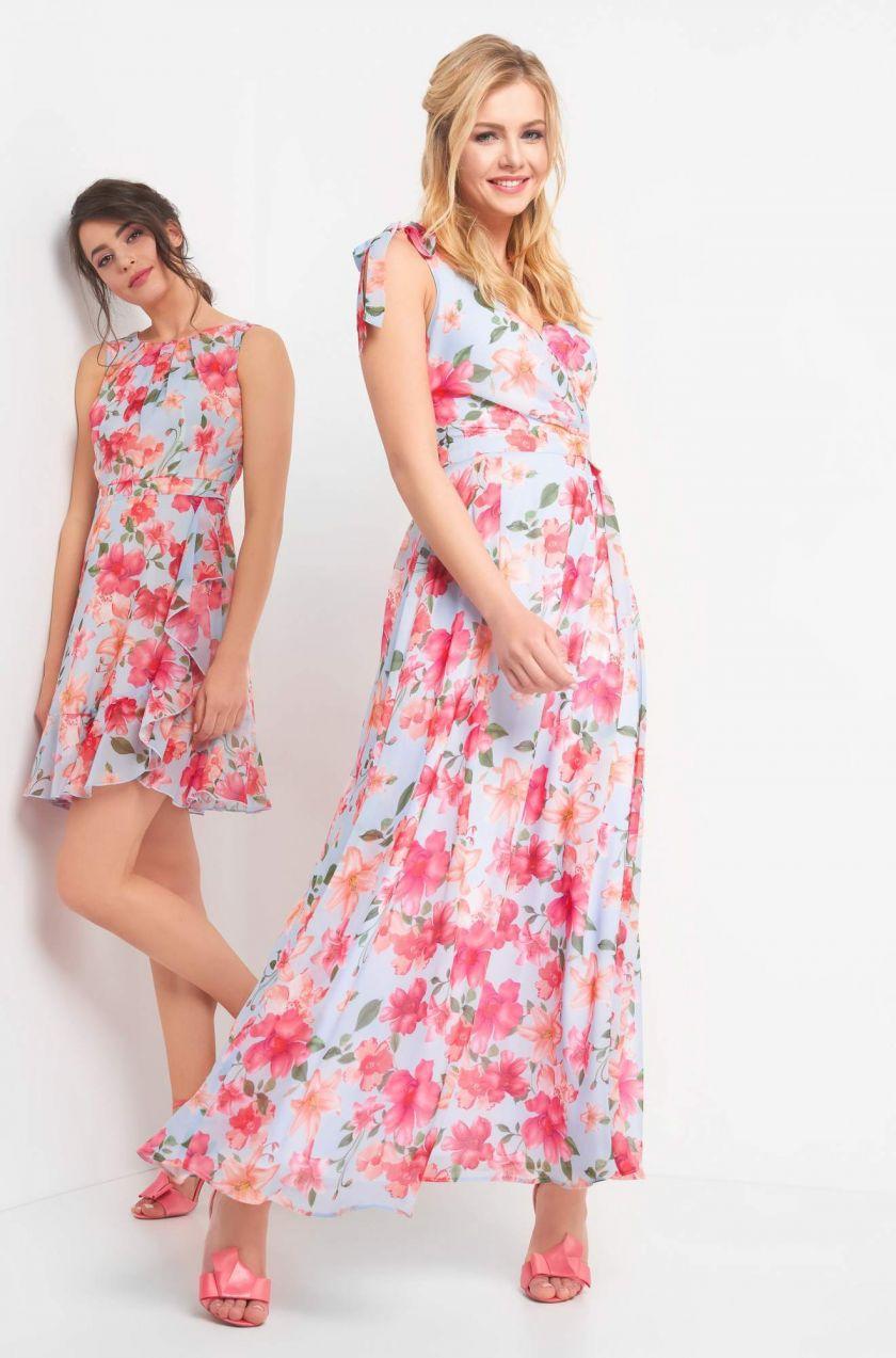 8dbeea23c022 Kvetované maxi šaty značky ORSAY - Lovely.sk