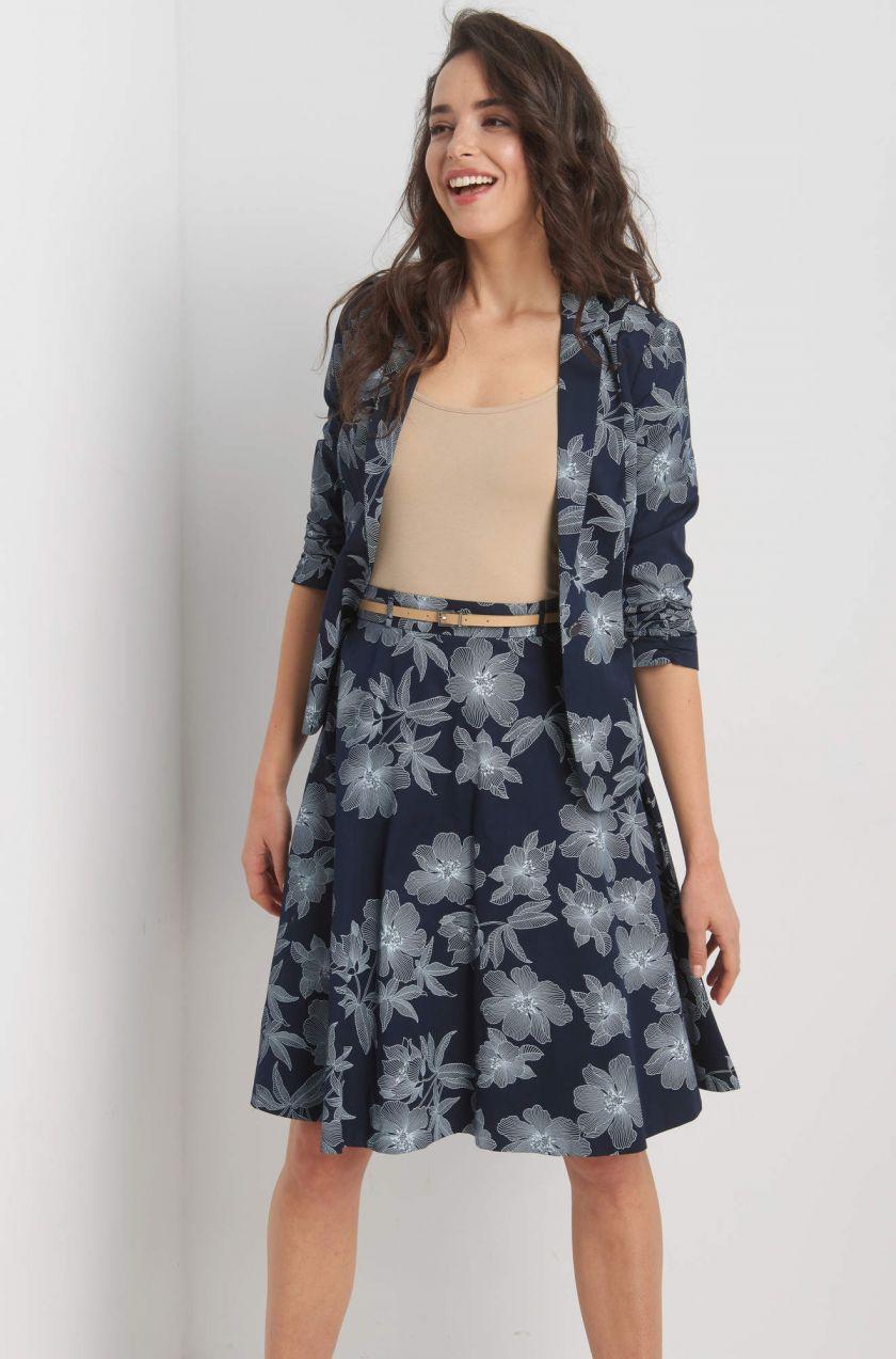 f4889bd60a61 Kvetovaná midi sukňa značky ORSAY - Lovely.sk