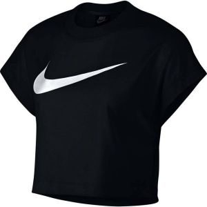 a3d3d94b78da Nike NSW SWSH TOP CROP SS - Dámsky top