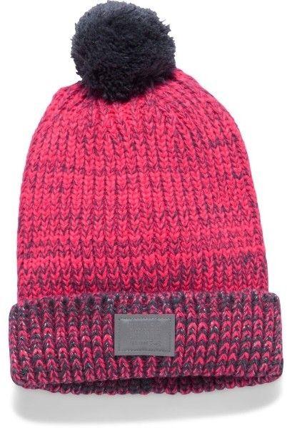 297a8e619 Under Armour GIRLS SHIMMER POM BEANIE - Dievčenská pletená čiapka ...