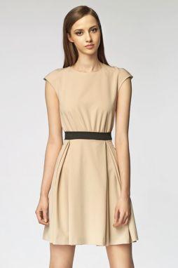c0c307993080 Béžové šaty Misebla SU016