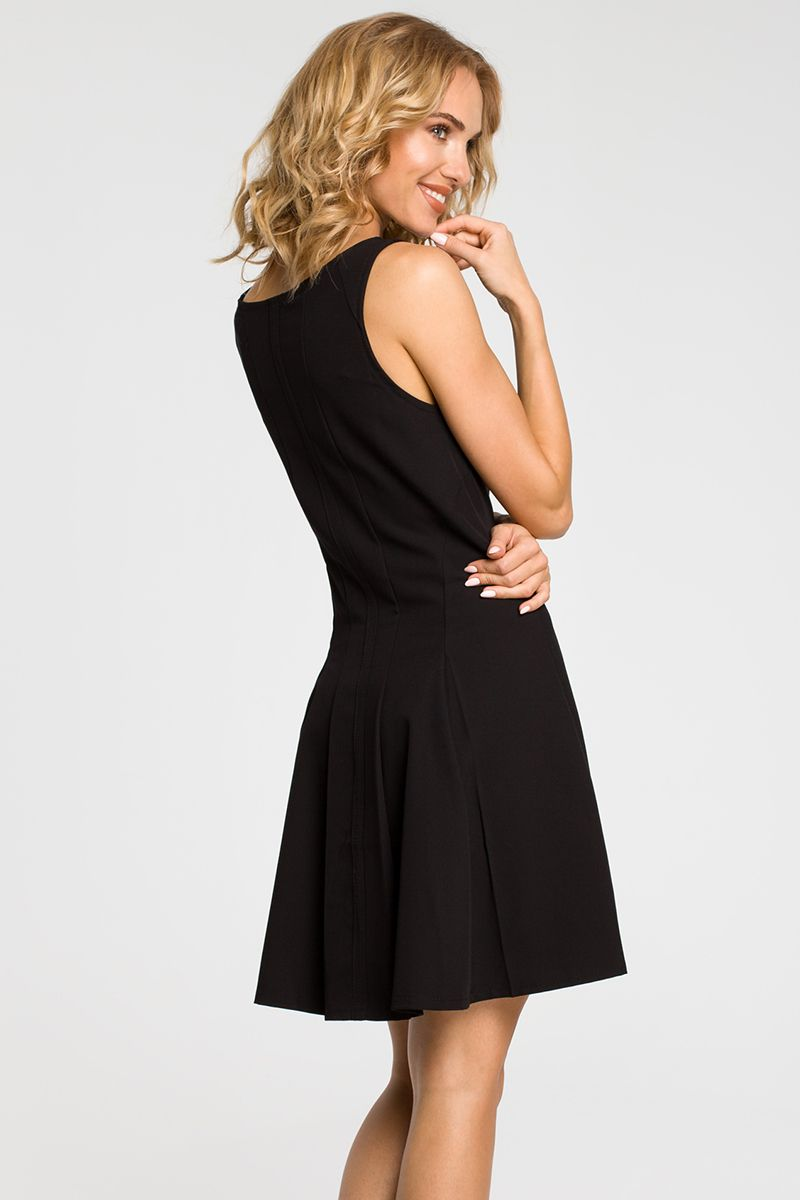 c18cc2a5c076 Čierne šaty MOE 188 značky Moe - Lovely.sk