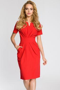 e03fe5bb3 Červené šaty MOE 018 značky Moe - Lovely.sk