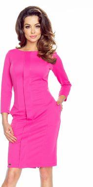 664d8e43dde4 Fuchsiové šaty Zita značky Bergamo - Lovely.sk