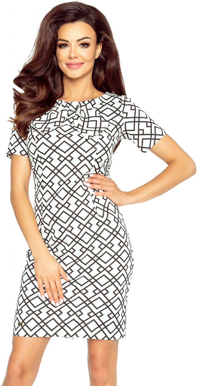 0eb15ff86b Čierno-biele šaty Ines II značky Bergamo - Lovely.sk