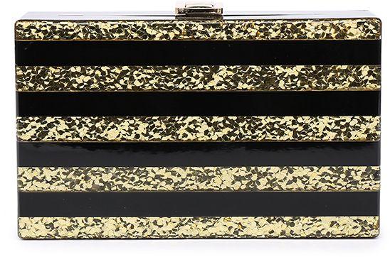 6d97eca5a4 Čierno-zlatá kabelka 18421 značky Moow - Lovely.sk