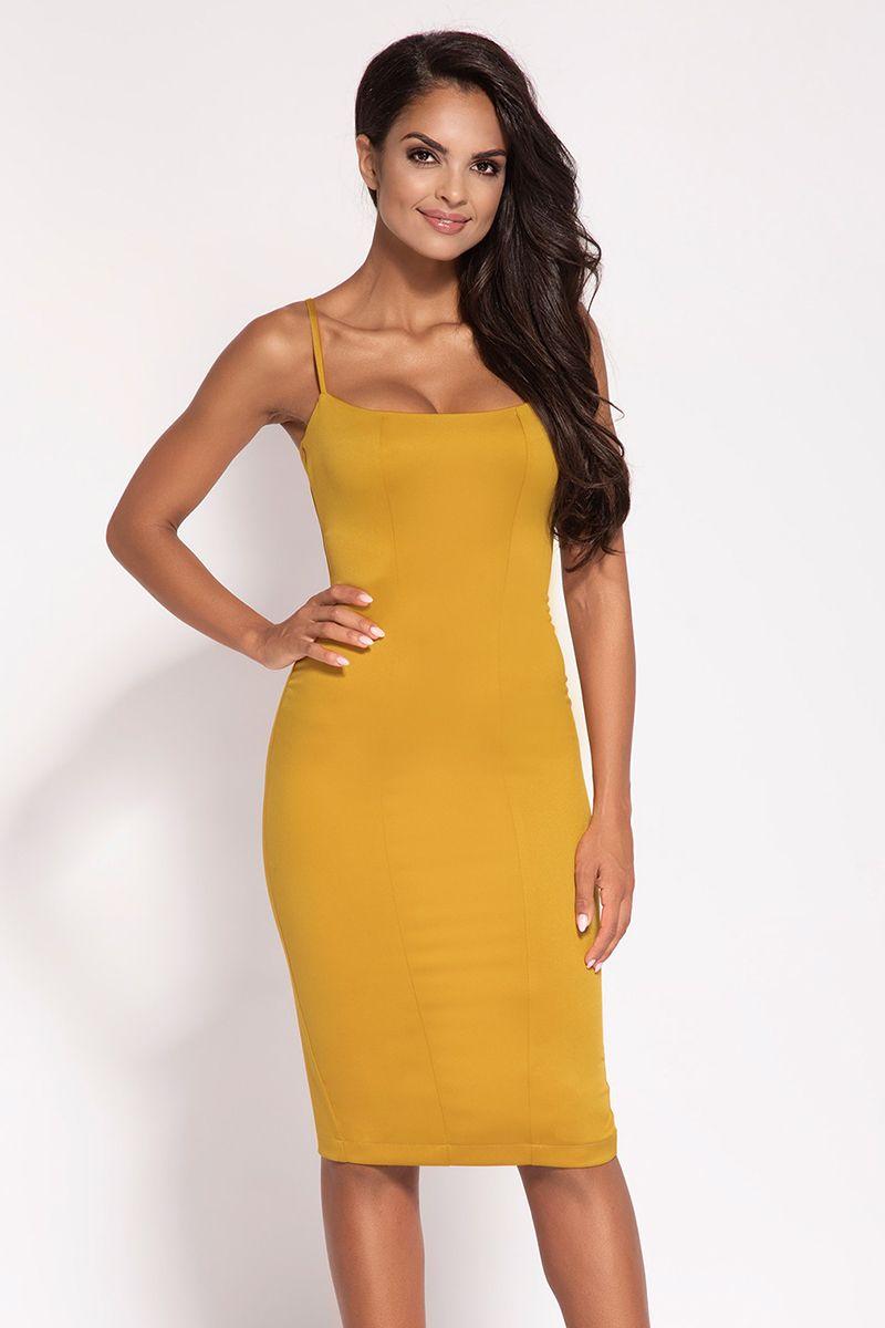 b86ab26a100d Žlté šaty Alia značky Dursi - Lovely.sk
