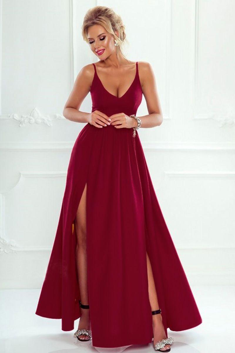 e3fc1da543e2 Lovely Žena Oblečenie Šaty Spoločenské šaty. Bordové šaty Nina