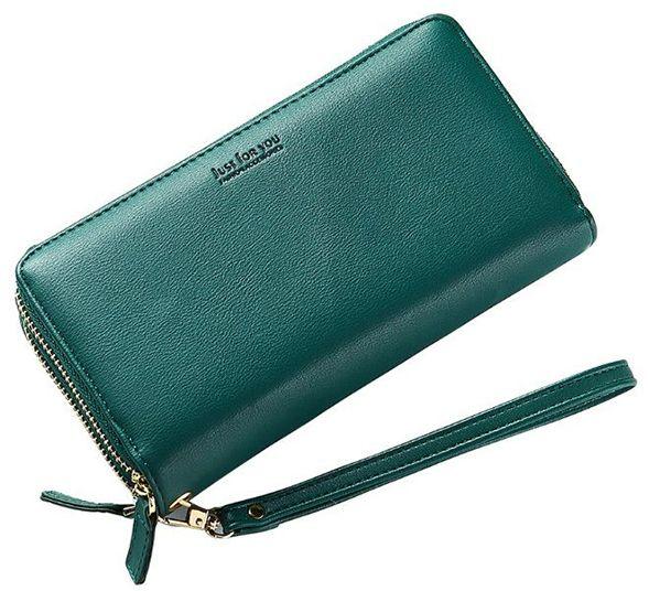 d2d316bf7 Zelená peňaženka Tilda značky Carla - Lovely.sk
