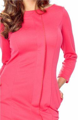 bb86337132d0 Koralové šaty Zita značky Bergamo - Lovely.sk