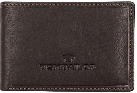 ffa7b77fb0f0 Pánska tmavohnedá kožená peňaženka Lary II značky Tom Tailor - Lovely.sk