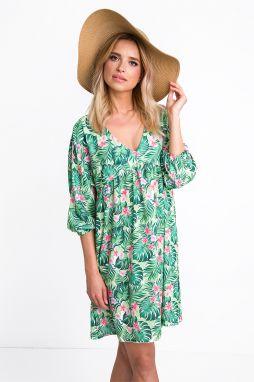 6db6b4db9952 Zelené plážové šaty - Lovely.sk