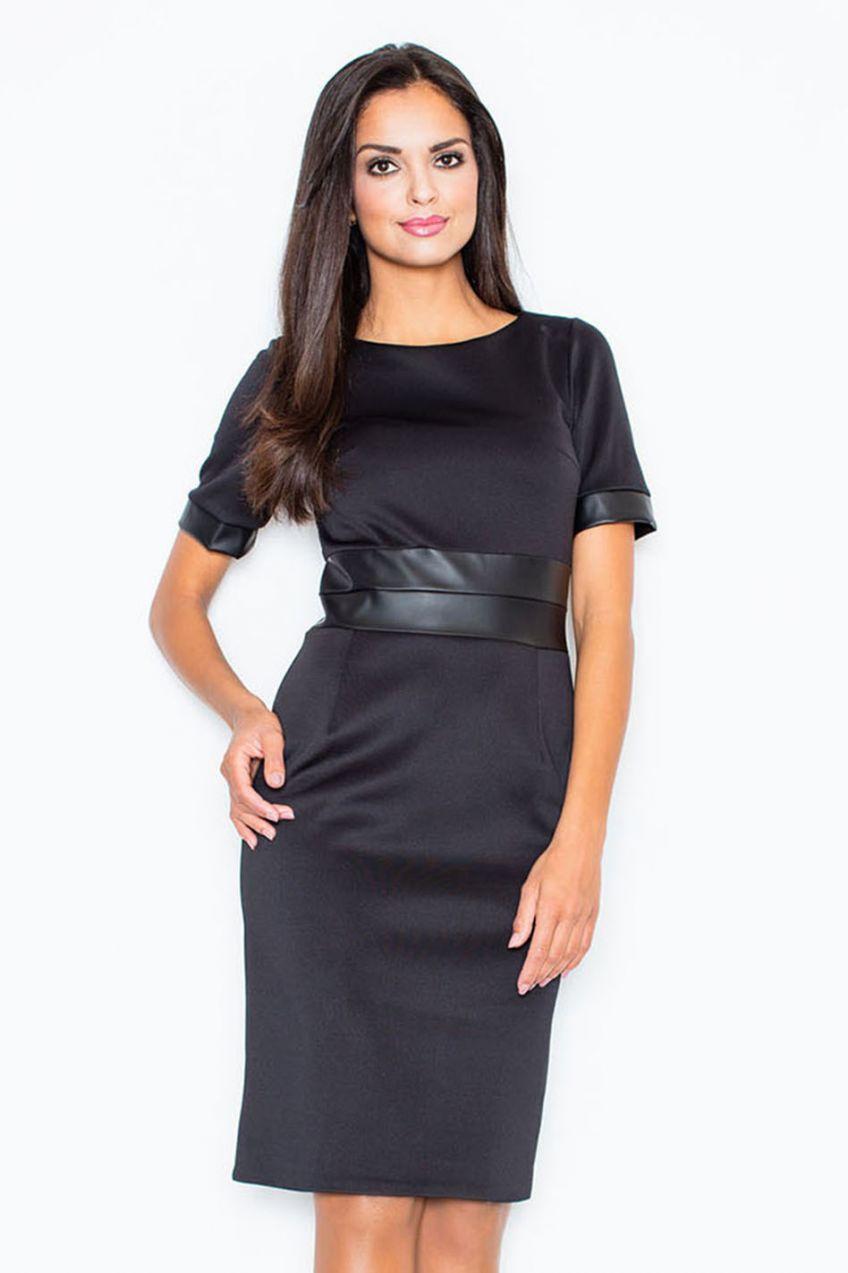 f5a1dcd7e841 Šaty M204 čierna značky Figl - Lovely.sk