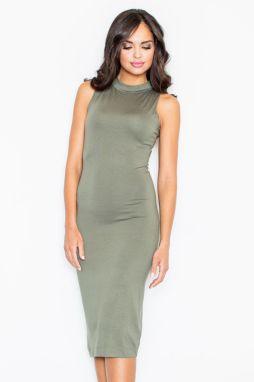 821ac758de96 Zelené šaty M263 značky Figl - Lovely.sk