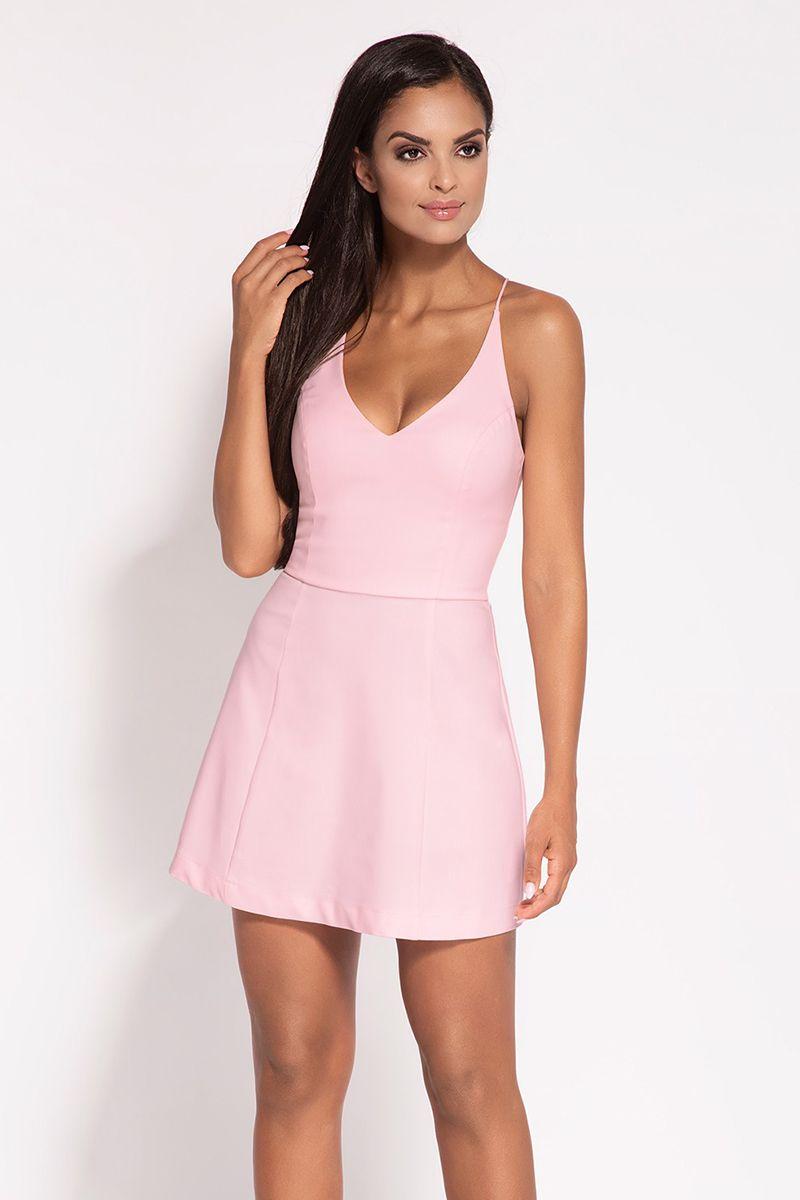 070967659 Svetloružové šaty Amelia značky Dursi - Lovely.sk