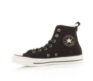 b71269db7301 Converse čierne kožené dámske topánky Brea s kožušinkou značky ...