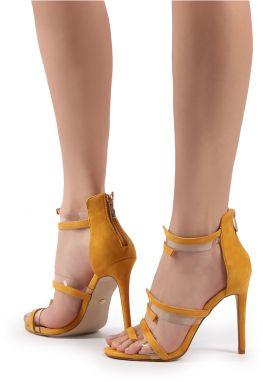 8c35d0b69815 Žlté sandále Dixie značky IDEAL - Lovely.sk
