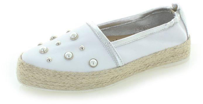 127113b3e Biele kožené mokasíny Cher značky Olivia Shoes - Lovely.sk