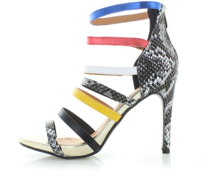 494b5f0ad3a7 Viacfarebné sandále Samiha značky SERGIO TODZI - Lovely.sk