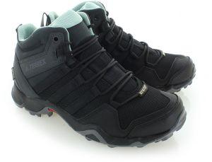 0f2e595d242a6 Dámske čierne členkové trekingové topánky Terrex AX2R Mid GTX značky ...