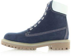 1fc21f58a6e0a Tmavomodré kožené členkové topánky 5899601