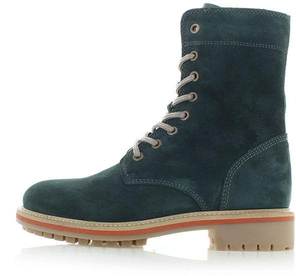 082744394dd7 Tmavotyrkysové kožené topánky Natalie značky Gant - Lovely.sk