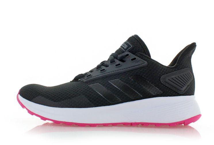 82f519f170b5 Dámske čierno-fuchsiové tenisky Duramo 9 značky adidas Performance ...