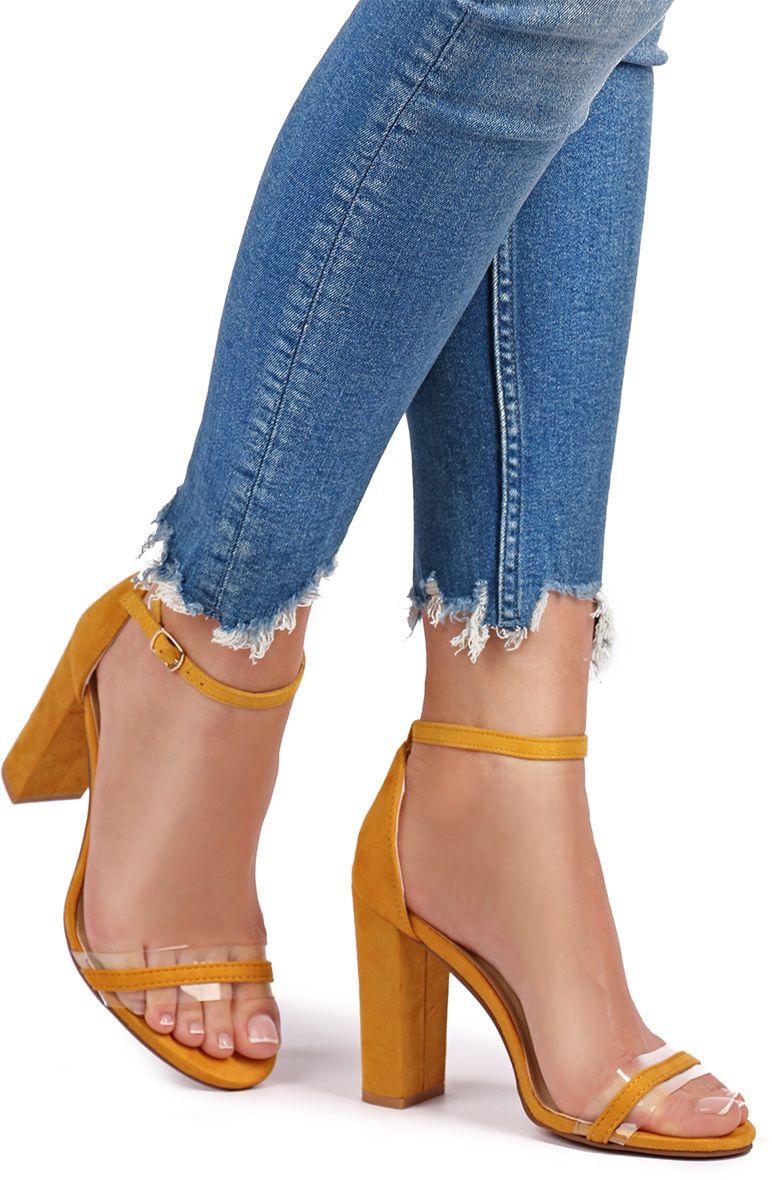 91e492bc68c4 Žlté sandále Jess značky IDEAL - Lovely.sk