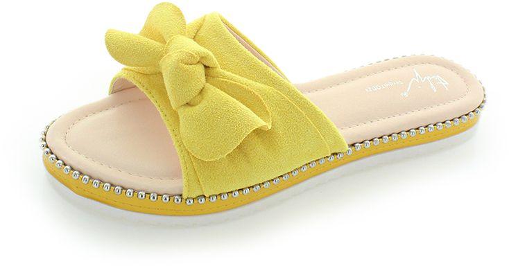 681cc56e7ee3 Žlté šľapky Carry značky SERGIO TODZI - Lovely.sk