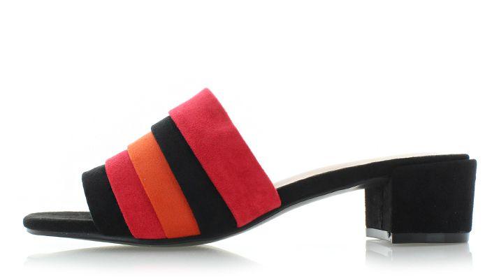 0089746d6d01 Čierno-červené šľapky Brook značky SERGIO TODZI - Lovely.sk
