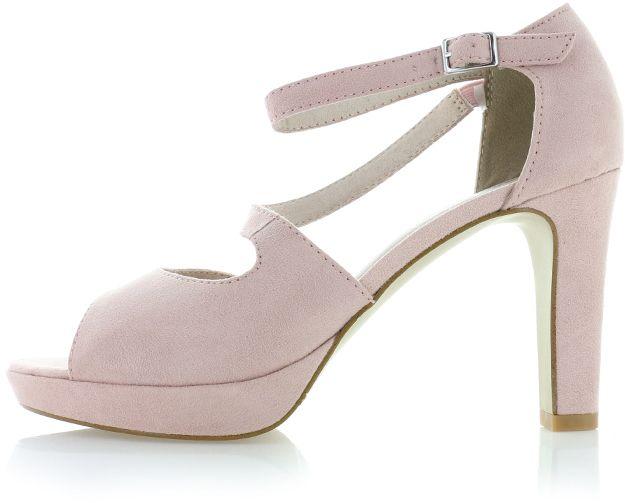 4c067cb39 Svetloružové sandále 5-28323 značky s.Oliver - Lovely.sk
