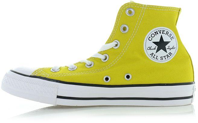 d98fe2af34 Dámske žlté vysoké tenisky Chuck Taylor All Star Seasonal Color. Converse