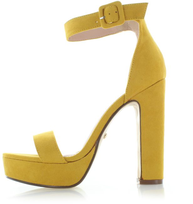 2af1ec2cdec3 Žlté sandále Madena značky IDEAL - Lovely.sk