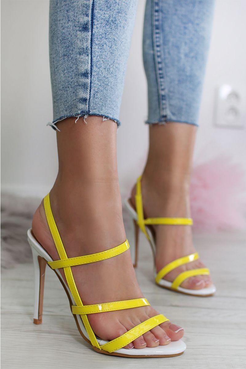 88e3acfafac0b Žlté sandále Nellie značky SERGIO TODZI - Lovely.sk