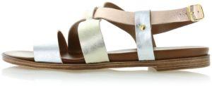 9e7a692bcbca Zlaté platformové sandále 2-28331 značky Marco Tozzi - Lovely.sk