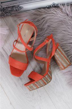 e52648712f1a Oranžové sandále Missy značky Moow - Lovely.sk