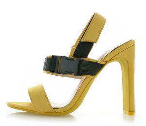 ada43aeb7957 Žlté šľapky Moira značky IDEAL - Lovely.sk