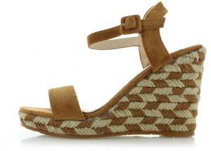 9c9b993478d7 Dámske sandále na platforme Ideal - Lovely.sk