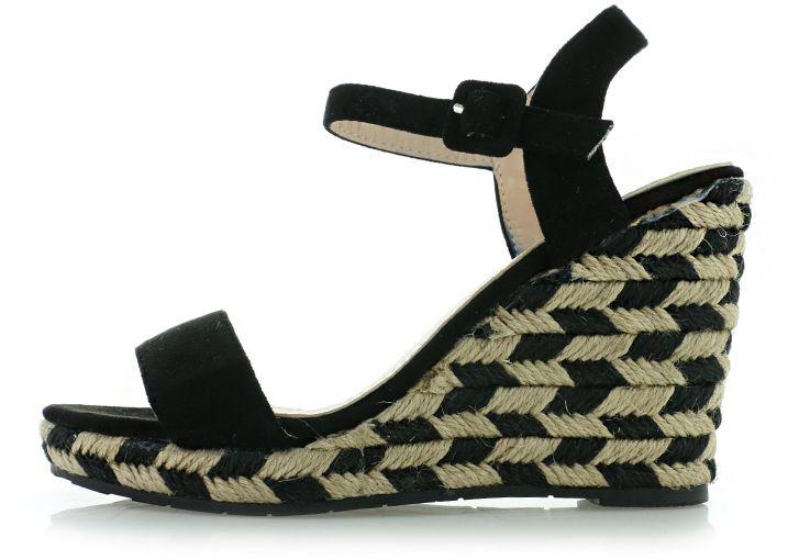 a640863fc68a Čierne platformové sandále Elle značky IDEAL - Lovely.sk